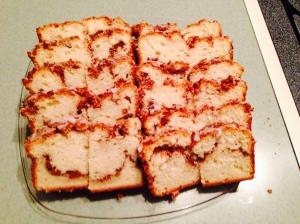 Cinnamon Pecan Swirl Coffee Cake