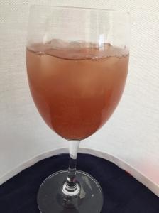 Non-alcoholic Cranberry Spritzer
